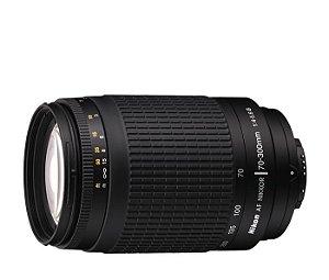 Lente Nikon AF Zoom-Nikkor 70-300mm f/4-5.6G Lente ideal para fotos instantâneas, viagem e esportivas