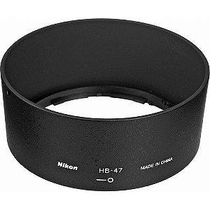 Parasol Nikon HB-47 para Lentes Nikon AF-S 50mm f/1.4 G e AF-S 50mm f/1.8G