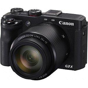 Câmera Canon PowerShot G3 X (Preta) 20.2 MegaPixels, Zoom Ótico de 25x, Vídeo Full HD