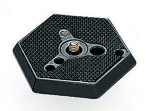 Plate Manfrotto 030-14 Hexagonal Quick Release Plate with 1/4