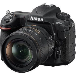 Câmera Nikon D500 Kit com Lente Nikon AF-S DX NIKKOR 16-80mm f/2.8-4E ED VR