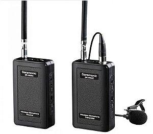 Microfone Lapela Sem Fio Omnidirecional Saramonic SR-WM4C