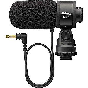 Microfone Nikon ME-1 Estereo Microphone para câmeras Nikon D500 / D750 / D5500 / D7200