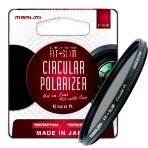 Filtro 58mm Polarizador Circular Marumi PL Fit + Slim 58mm