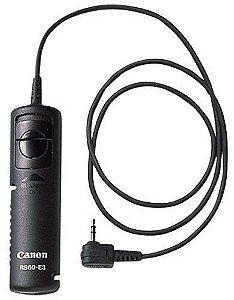 Controle remoto Canon RS-60E3 para câmeras EOS 60D / 70D / Rebel T3i / T5 / T5i / G16 / SX60 HS
