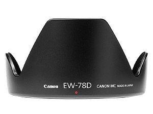 Parasol Canon EW-78D para Lente Canon EF-S 18-200 e EF 28-200mm f/3.5-5.6