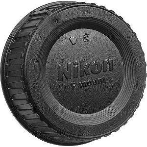Tampa traseira de Lente Nikon LF-4 compatível com todas as lentes Nikon AF, AF-D, AF-S