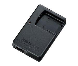 Carregador Nikon MH-63 para Bateria Nikon EN-EL10 câmeras Nikon COOLPIX S3000 / S4000 / S80 / S5100 / S570