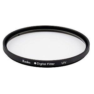 Filtro 77mm proteção UV diâmetro de 77mm Kenko Digital Filter
