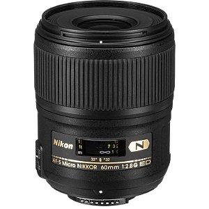 Lente Nikon AF-S Micro Nikkor 60mm f/2.8G ED
