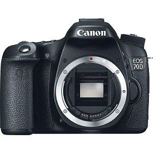 Câmera Canon EOS 70D Kit com Lente Canon EF-S 18-200mm f/3.5-5.6 IS STM