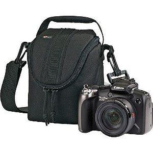 Bolsa para câmera tamanho 9,5 x 8,5 x 13,5cm Lowepro Adventura Ultra Zoom 100 LP36214