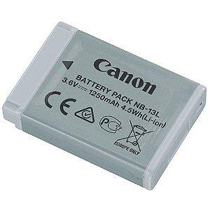 Bateria Canon NB-13L para câmeras Canon PowerShot G7 X Mark II