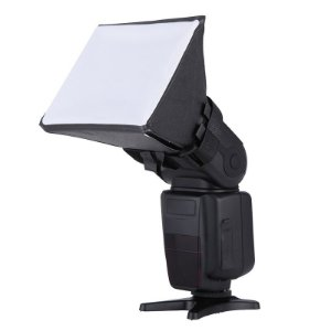 Softbox Mini 23x23cm para Flash Speedlight