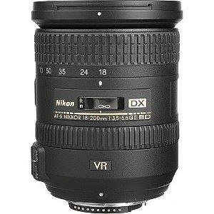 Lente Nikon AF-S DX NIKKOR 18-200mm f/3.5-5.6G ED VR II