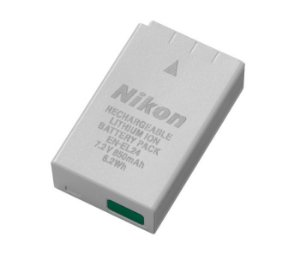 Bateria Nikon EN-EL24 para câmera Nikon 1 J5