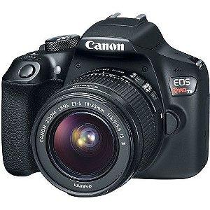 Câmera Canon EOS Rebel T6 Kit com Lente Canon EF-S 18-55mm