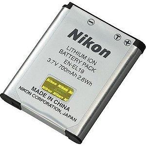 Bateria recarregável Nikon EN-EL19 para câmeras Nikon COOLPIX S32 / S5300 / S3400 / S3500 / S4300 e outras