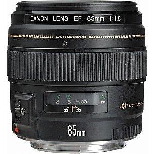 Lente Canon EF 85mm f/1.8 USM