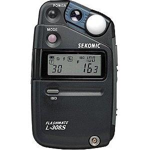 Fotômetro Medidor de Luz Sekonic FLASHMATE L-308S