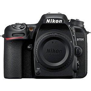 Câmera Nikon D7500 Apenas o Corpo
