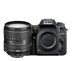 Câmera Nikon D7500 Kit Lente Nikon AF-S DX NIKKOR 16-80mm f/2.8-4E ED VR
