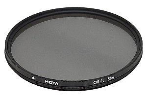 Filtro 82mm Polarizador Circular Hoya 82mm CIR-PL SLIM FRAME