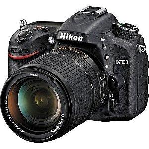Câmera Nikon D7100 Kit com Lente Nikon AF-S 18-140mm f/3.5-5.6G VR