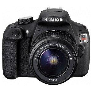 Câmera Canon EOS Rebel T5 Kit com Lente Canon EF-S 18-55 F/3.5-5.6 III