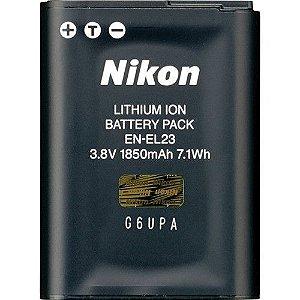 Bateria recarregável Nikon EN-EL23 para câmeras Nikon COOLPIX B700 / P900 / P610 / P600 / S810c
