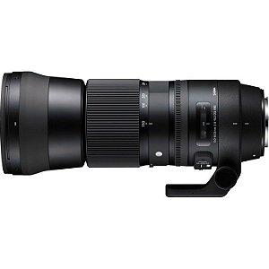 Lente Sigma 150-600mm f/5-6.3 DG OS HSM Contemporary para câmeras DSLR Nikon