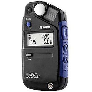Fotômetro Medidor de Luz Sekonic L-308X-U Flashmate Light Meter