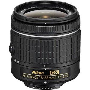Lente Nikon AF-P DX NIKKOR 18-55mm f/3.5-5.6G