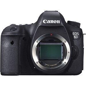 Câmera Canon EOS 6D Corpo com Battery Grip Canon BG-E13