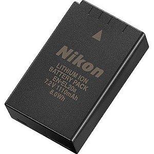 Bateria Nikon EN-EL20a para câmera Nikon COOLPIX P1000 / Nikon 1 V3 / 1 AW1 / COOLPIX A