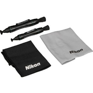 Nikon Lens Pen PRO KIT de limpeza de Lentes: Pano anti-neblina, Pano de Microfibra, Lens Pen