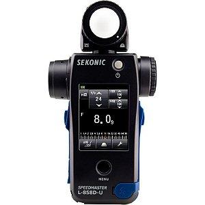 Fotômetro Medidor de Luz Sekonic Speedmaster L-858D-U Light Meter