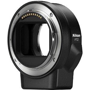 Adaptador Nikon FTZ Mount Adapter para usar Lentes NIKKOR de encaixe F nas câmeras Z 6 e Z 7