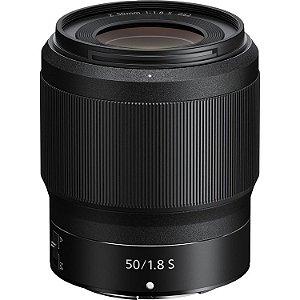 Lente Nikon NIKKOR Z 50mm f/1.8 S
