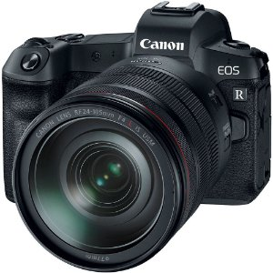 Câmera Canon EOS R Mirrorless Kit Lente Canon RF 24-105mm f/4L IS USM Lens
