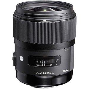 Lente Sigma 35mm f/1.4 DG HSM Art para câmeras Canon EOS