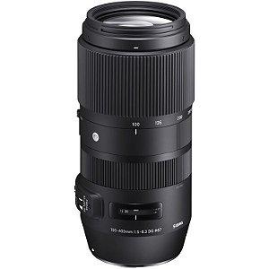 Lente Sigma 100-400mm f/5-6.3 DG OS HSM Contemporary para câmeras Canon EOS