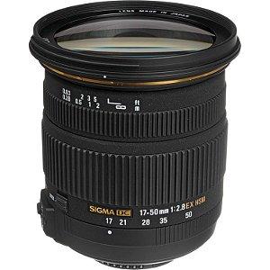 Lente Sigma 17-50mm f/2.8 EX DC OS HSM para câmeras Nikon DX