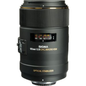 Lente Sigma 105mm f/2.8 EX DG OS HSM Macro para câmeras Nikon