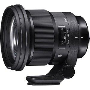 Lente Sigma 105mm f/1.4 DG HSM Art para câmeras Nikon