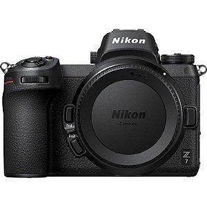 Câmera Nikon Z 7 Mirrorless com Adaptador Nikon FTZ