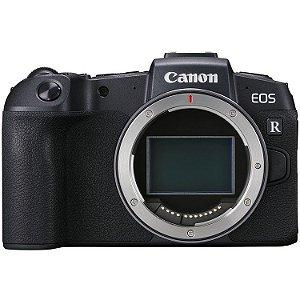 Câmera Canon EOS RP Mirrorless Corpo com Adaptador Canon EF-EOS R + Cartão de Memória 64GB