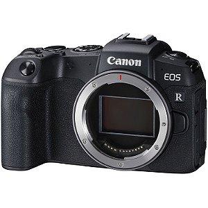 Câmera Canon EOS RP Mirrorless Corpo com Adaptador Mount EF-EOS R para Lentes Canon EF