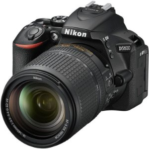 Câmera Nikon D5600 Kit com Lente Nikon AF-S DX NIKKOR 18-140mm f/3.5-5.6G ED VR