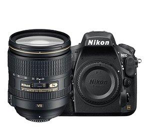 Câmera Nikon D810 Kit com Lente Nikon AF-S NIKKOR 24-120mm f/4G ED VR